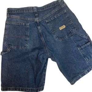 Vintage Men's Wrangler Denim Carpenter Jean Shorts